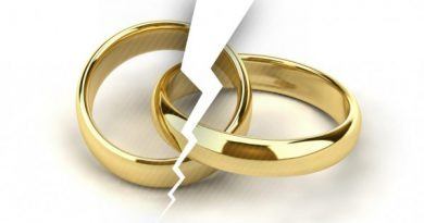 How are possessions divided in a divorce?